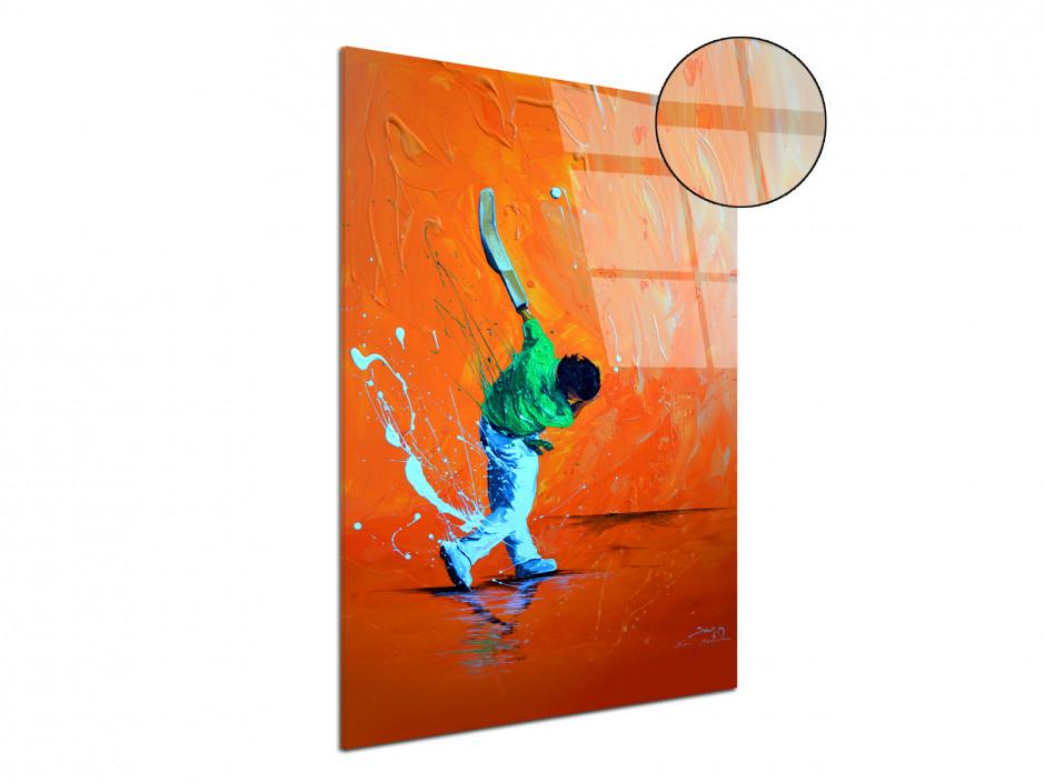 Tableau peinture Rémi Bertoche La Chistera reproduction sur plexiglas imprimée