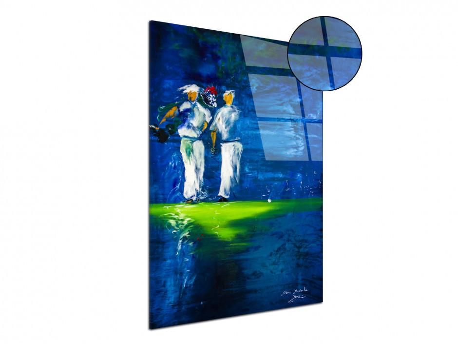 Tableau déco Golf Party sur plexiglass par Rémi Bertoche