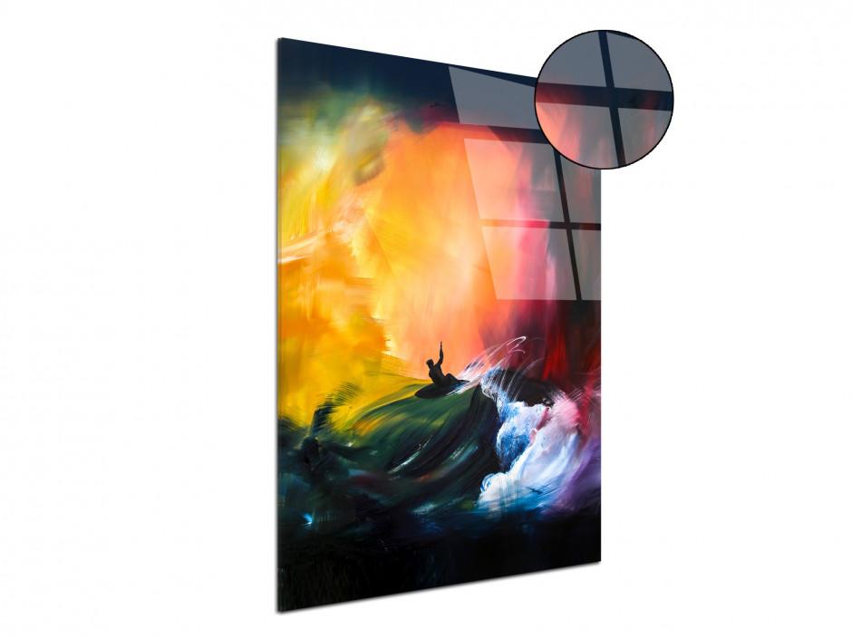 Tableau décoratif Sunset Session reproduction sur plexiglas imprimée