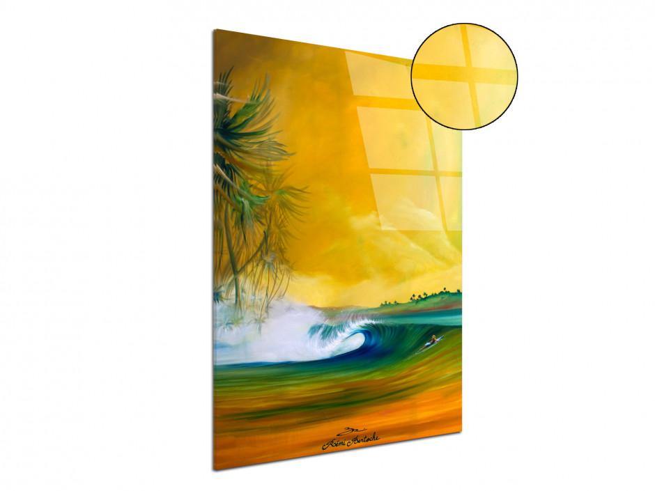 Tableau Rémi Bertoche reproduction sur plexiglas imprimée Yellow Spot