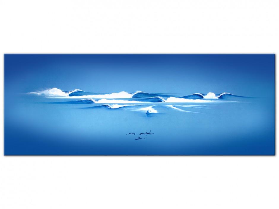 Reproduction tableau Dibond Rémi Bertoche The Blue Cool
