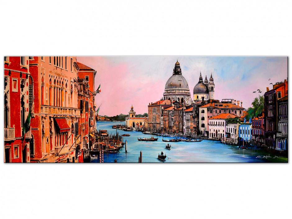 Reproduction peinture sur Aluminium Remi Bertoche Venise