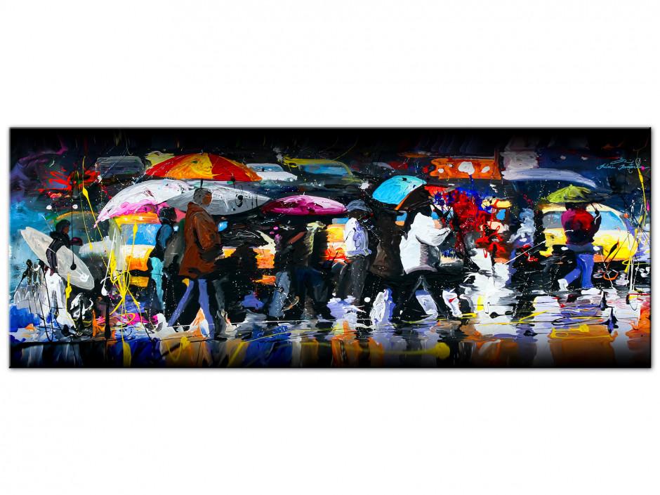 Tableau Aluminiums artiste peintre Remi Bertoche Crossing