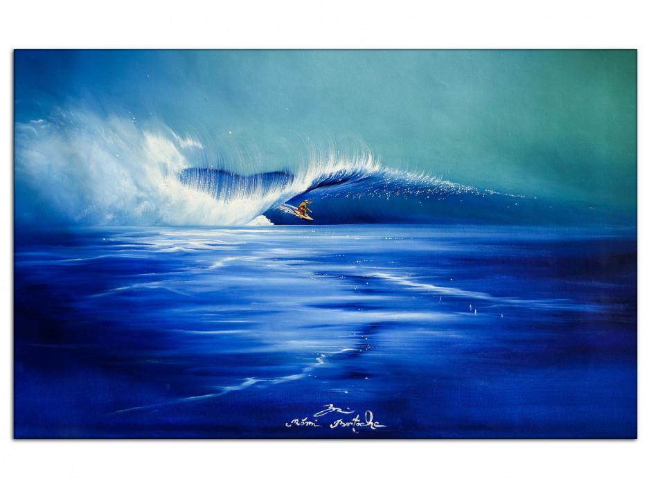 Reproduction tableau Aluminiums Rémi Bertoche Funny Waves