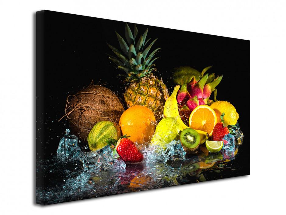 Tableau toile décoration cuisine Les Fruits