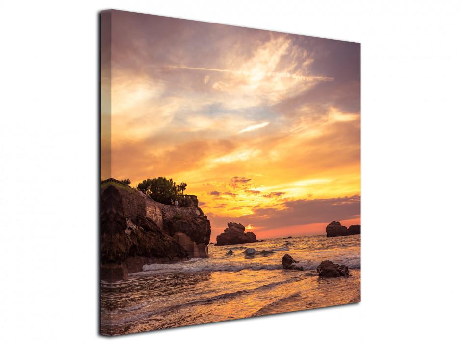 Tableau toile photographie paysage de Biarritz