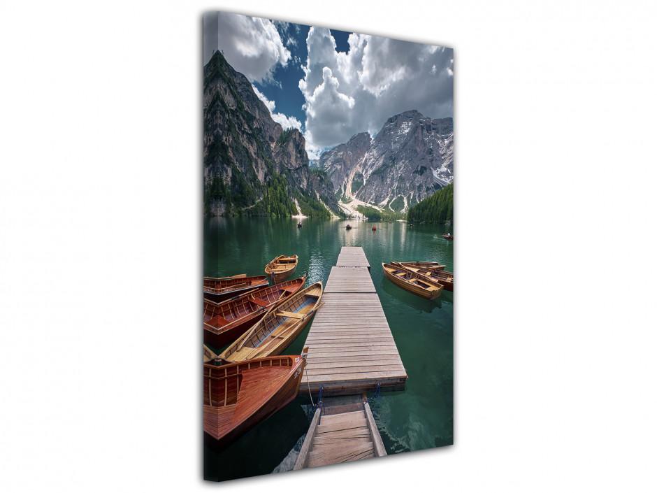 Tableau toile déco Pragser Wildsee