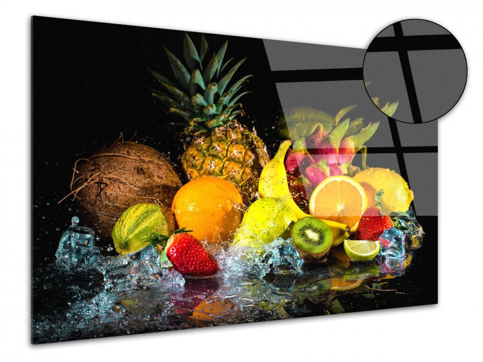 Tableau plexiglas décoration cuisine Les Fruits