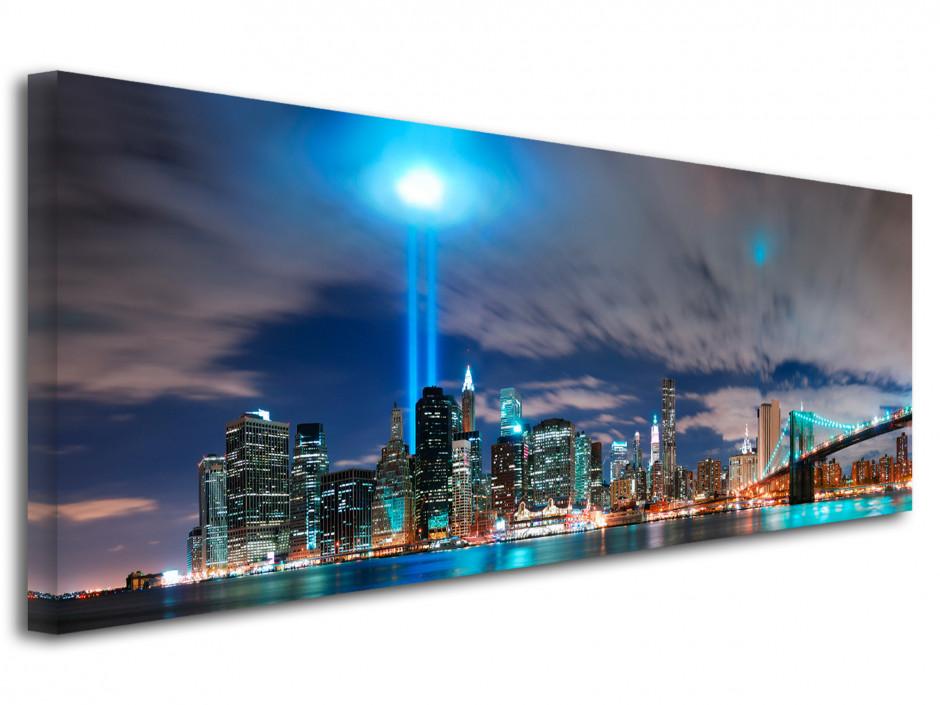 Tableau toile deco panorama New York City