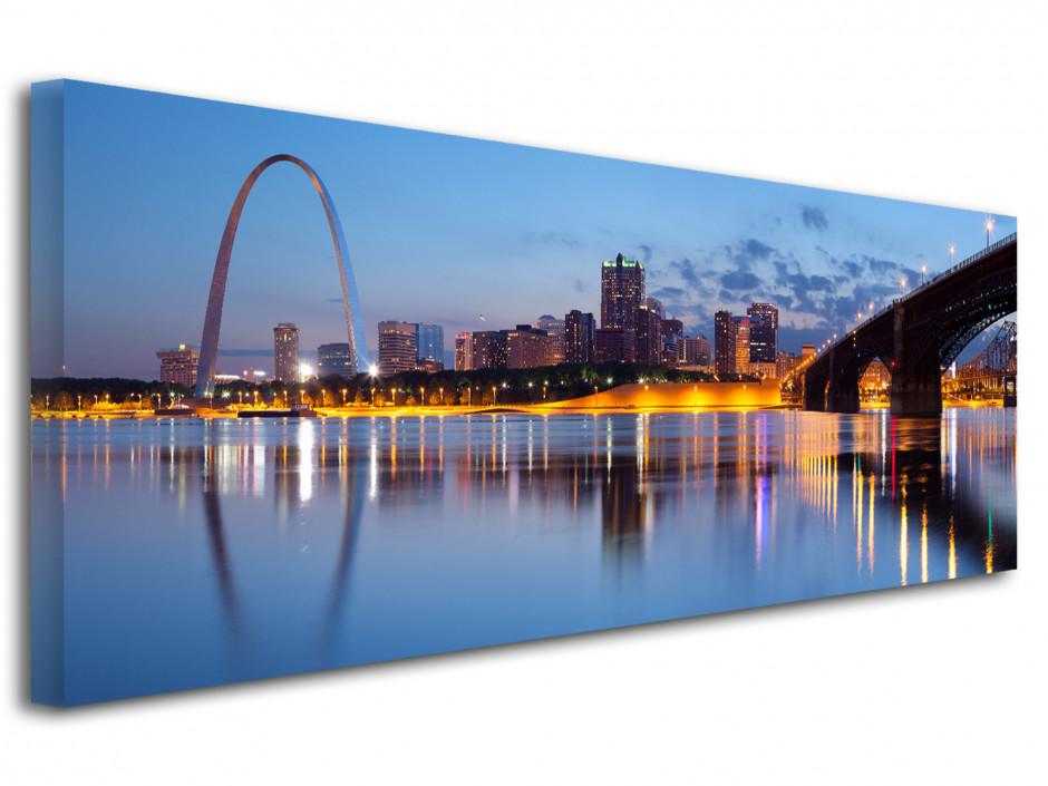 Tableau toile photo panoramique St. Louis City