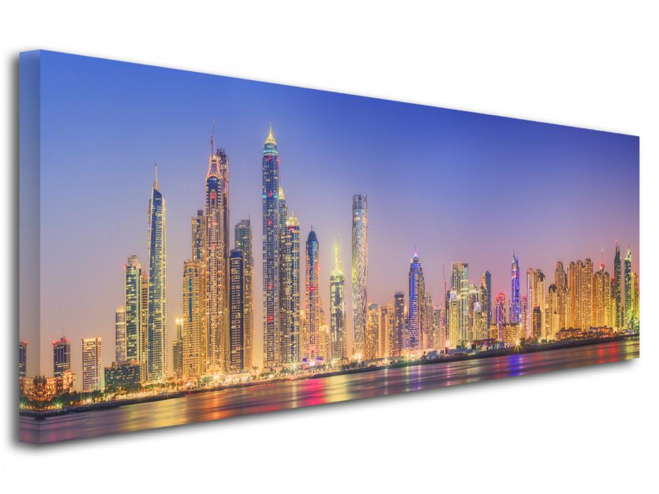 Tableau toile photo panoramique Dubai