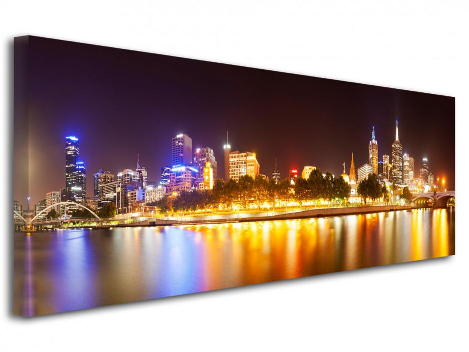 Tableau toile panoramique Yarra river Australie