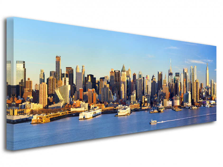 Tableau toile panorama sur New York