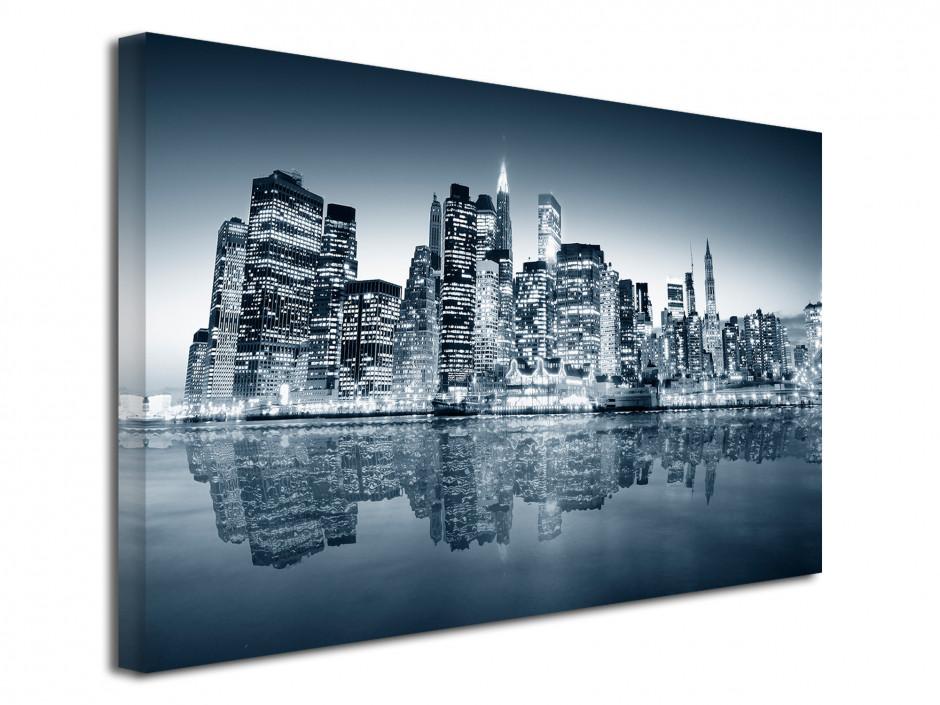 Tableau toile photo noir et blanc New York