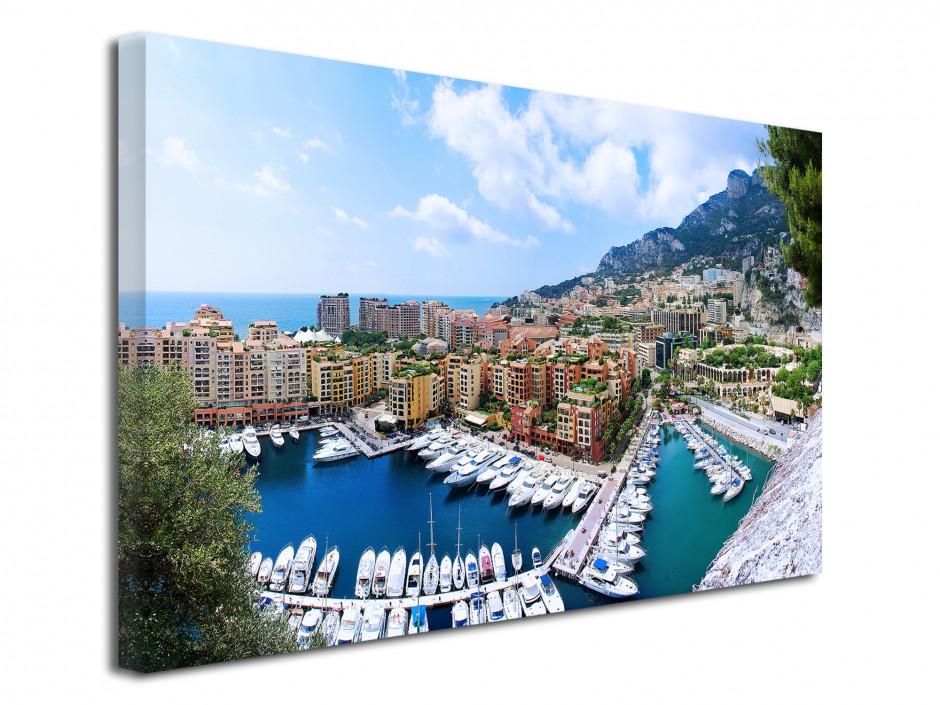 Tableau toile photo Principauté de Monaco