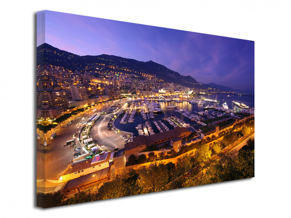 Tableau toile photo Monaco