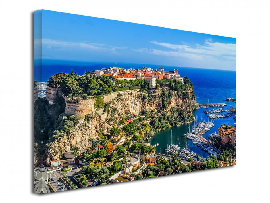 Tableau toile photo Monte Carlo