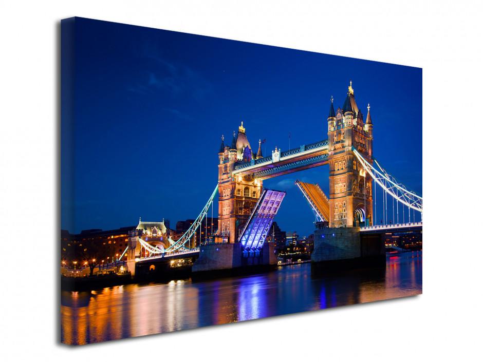 Tableau toile photo Tower Bridge à Londres