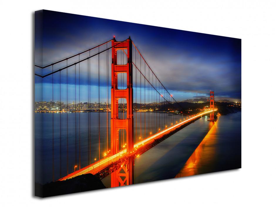 Tableau toile photo Pont de San Francisco