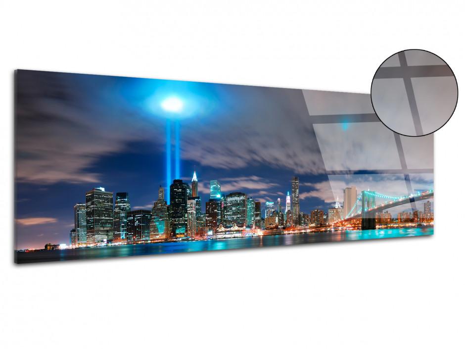 Tableau plexiglas deco panorama New York City