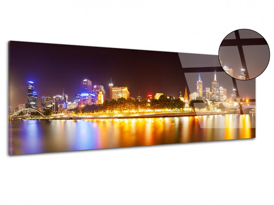 Tableau plexiglas panoramique Yarra river Australie