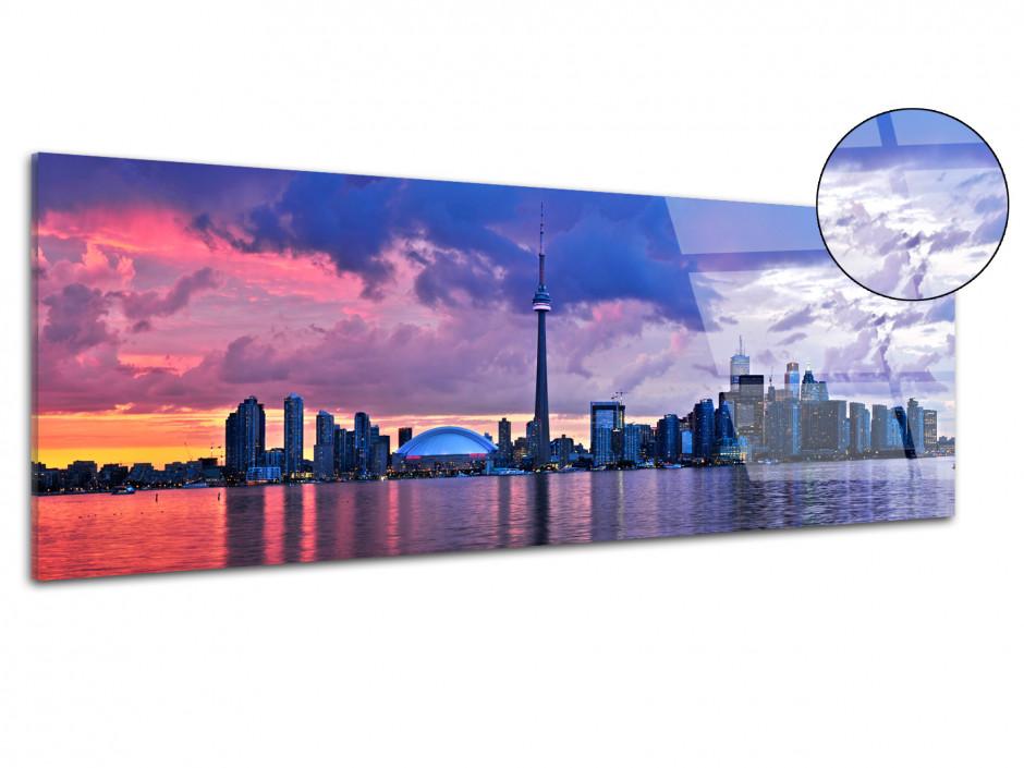Tableau plexiglas panoramique ville de Toronto Canada