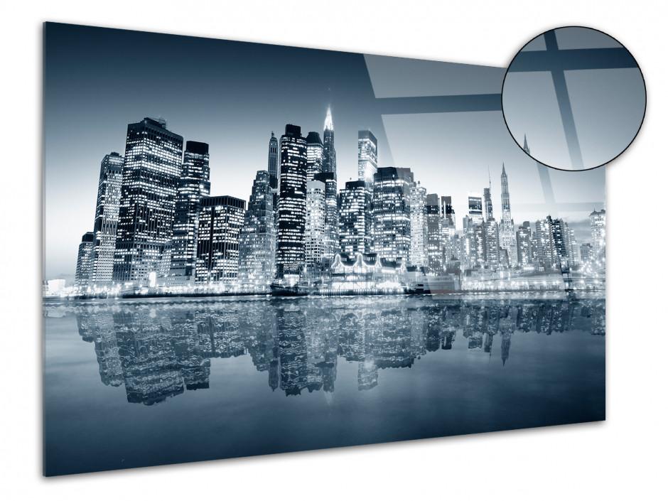 Tableau plexiglas photo noir et blanc New York