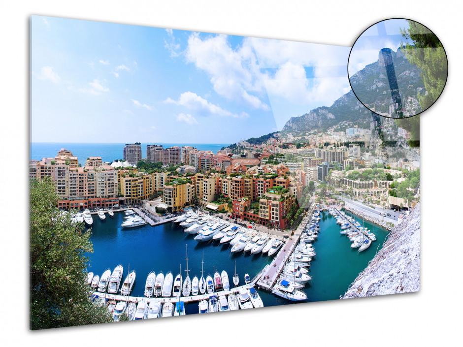 Tableau plexiglas photo Principauté de Monaco