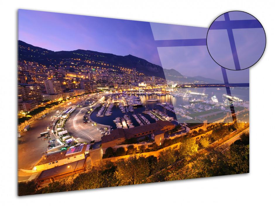 Tableau plexiglas photo Monaco
