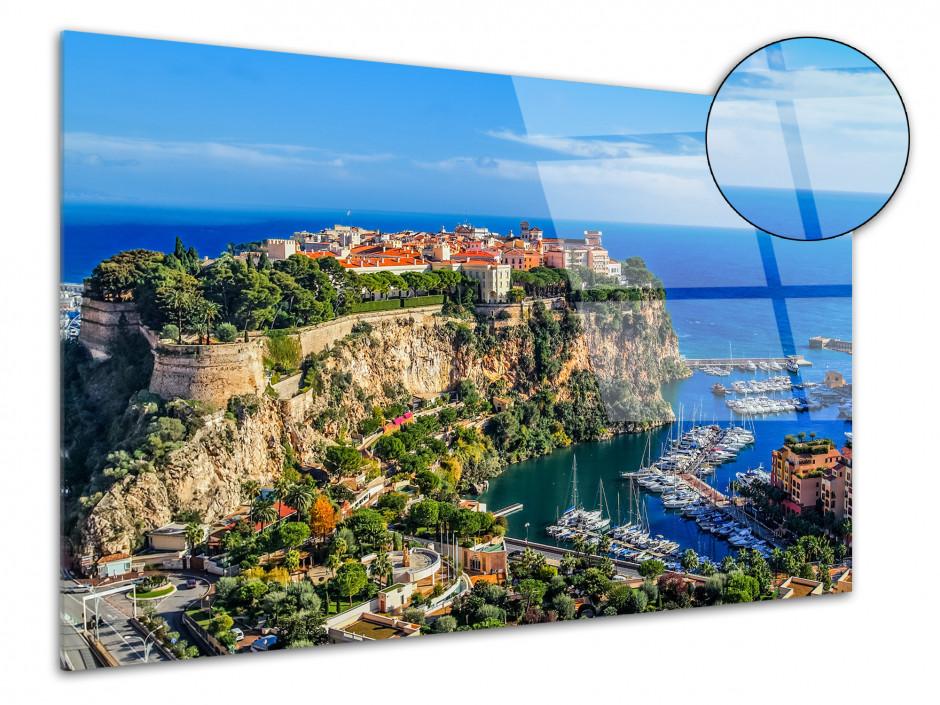 Tableau plexiglas photo Monte Carlo