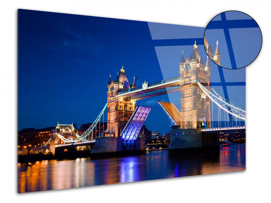 Tableau plexiglas photo Tower Bridge à Londres