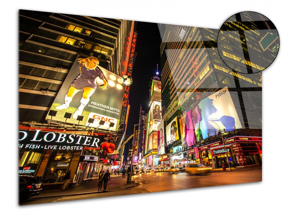 Tableau plexiglas photo Times square à new york