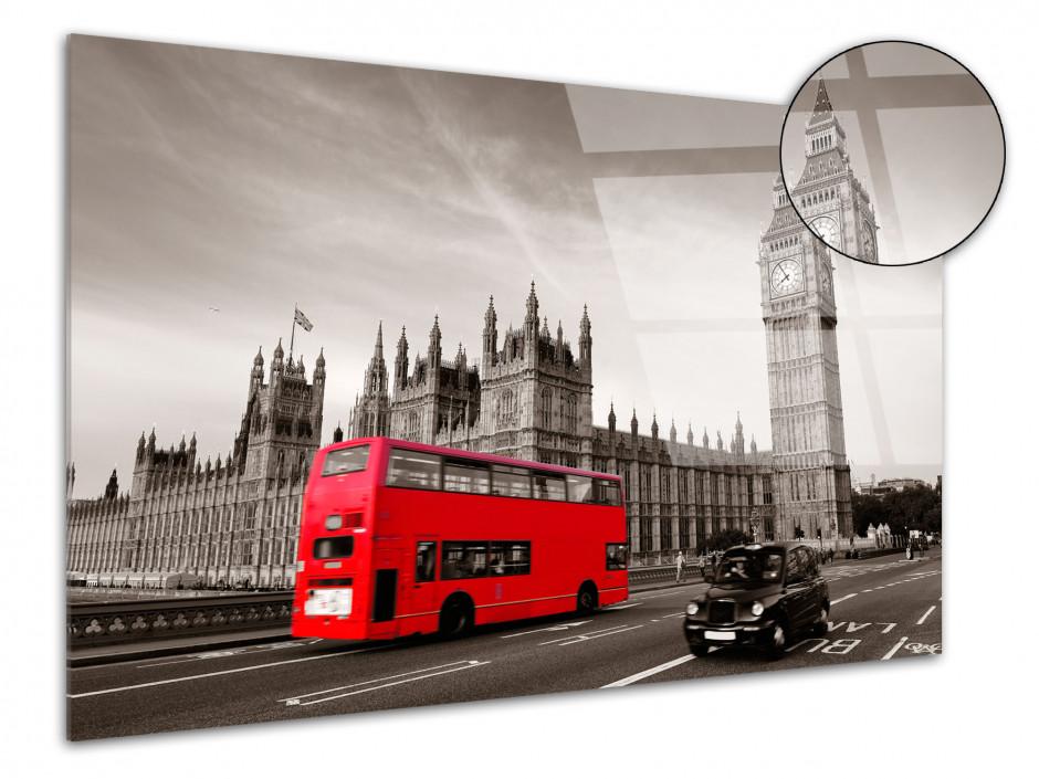 Tableau plexiglas deco Londres