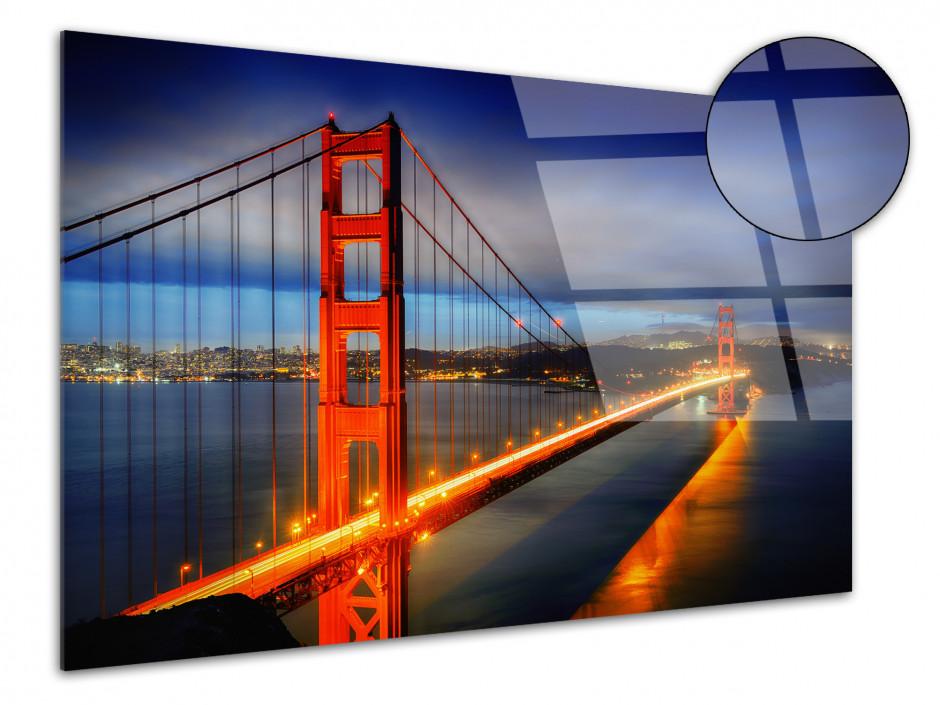 Tableau plexiglas photo Pont de San Francisco