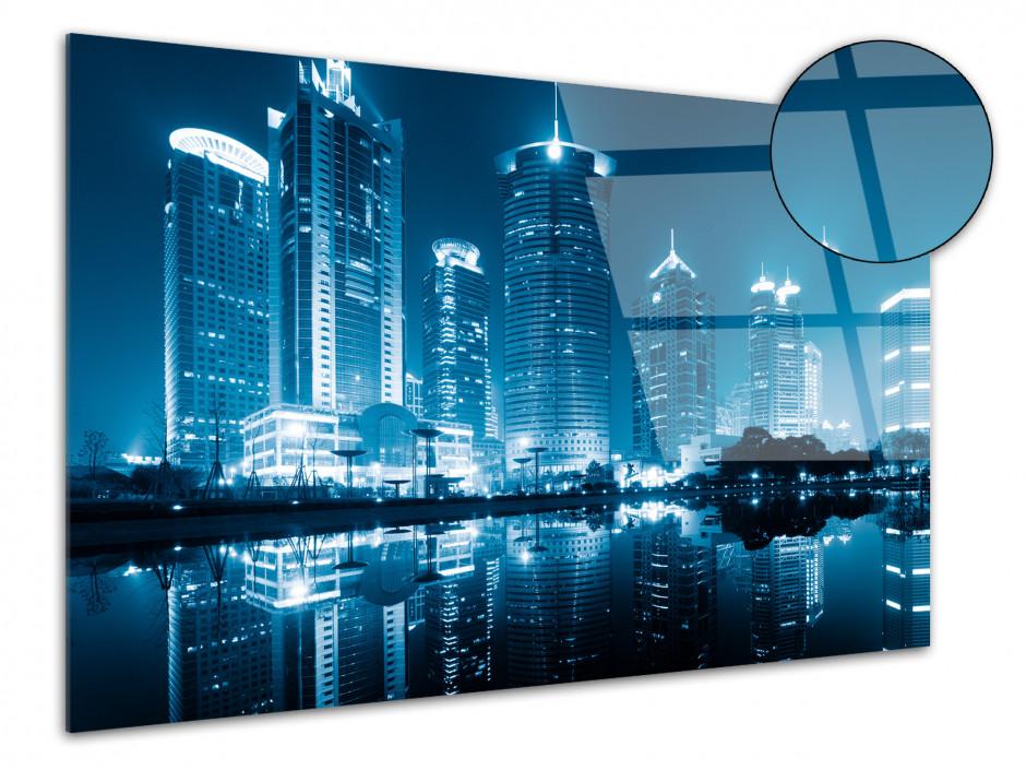Tableau plexiglas déco photo de Shanghai de Nuit