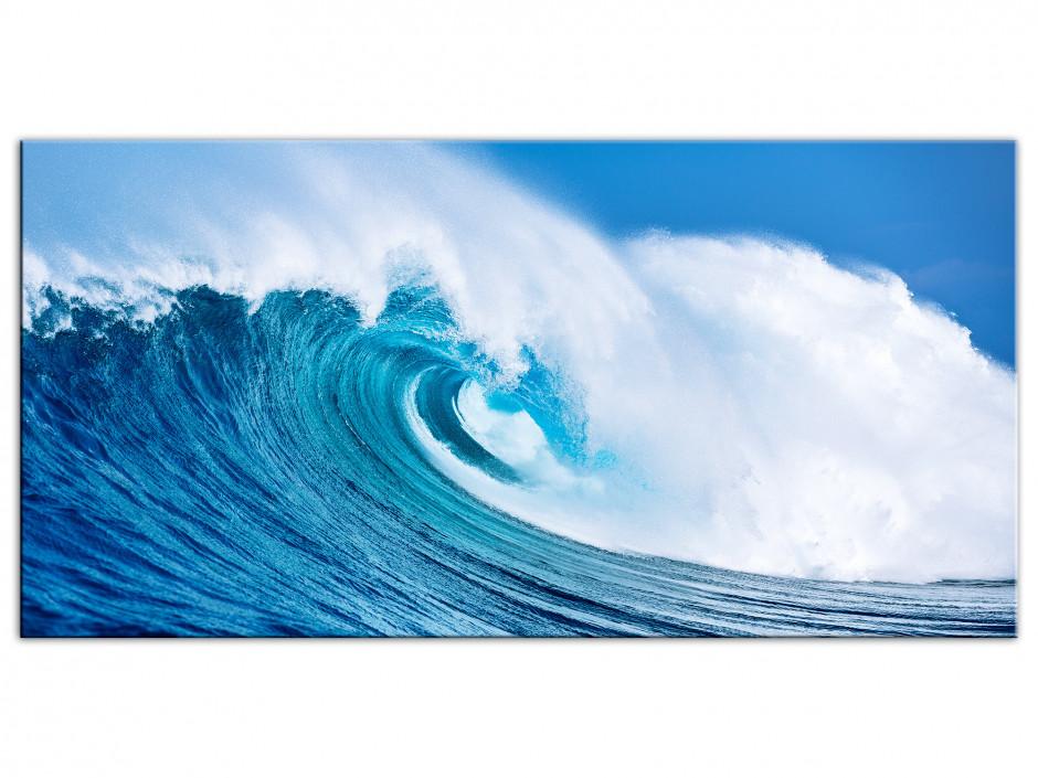 Tableau Aluminium The Blue Wave