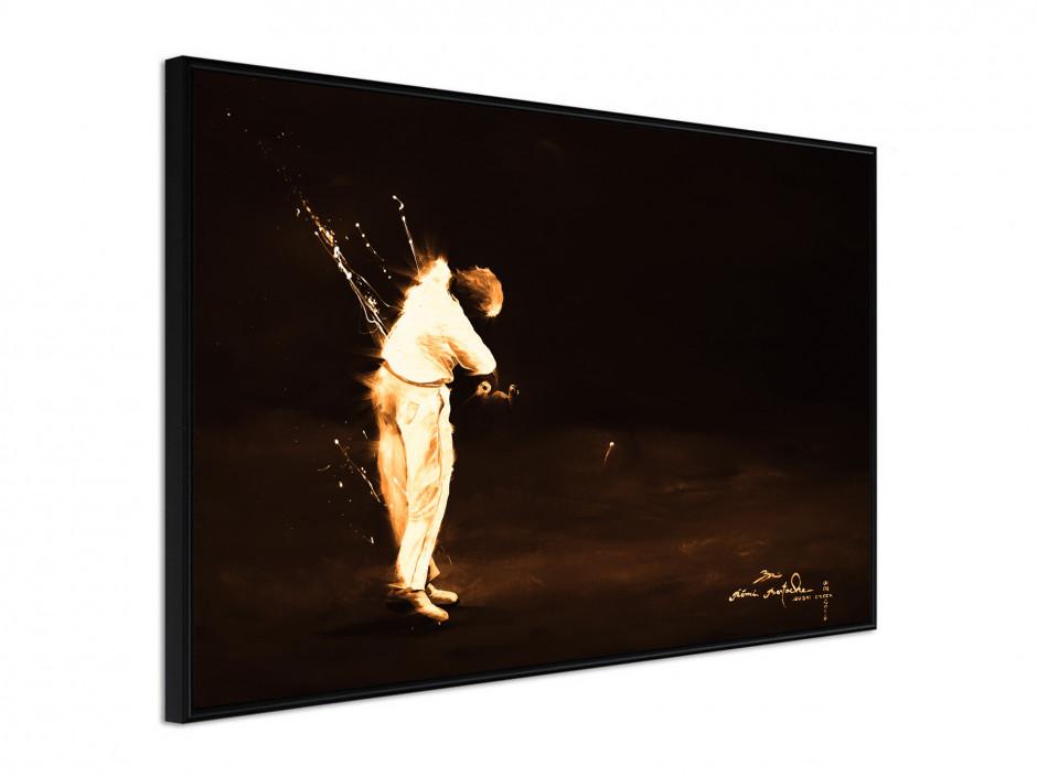 Affiche sous cadre Golf Swing