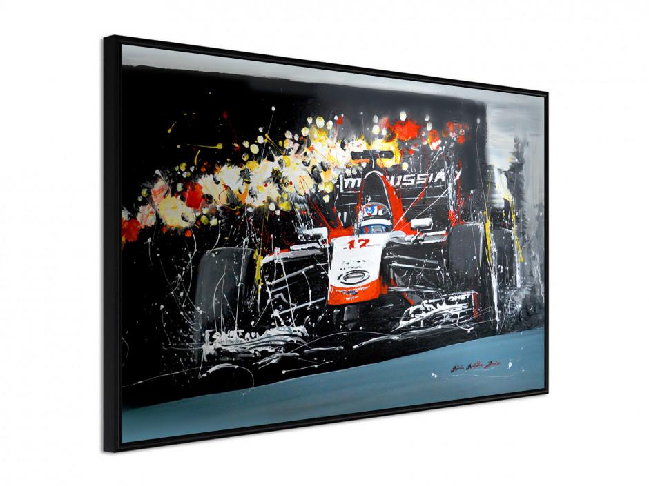 Affiche sous cadre Formule 1
