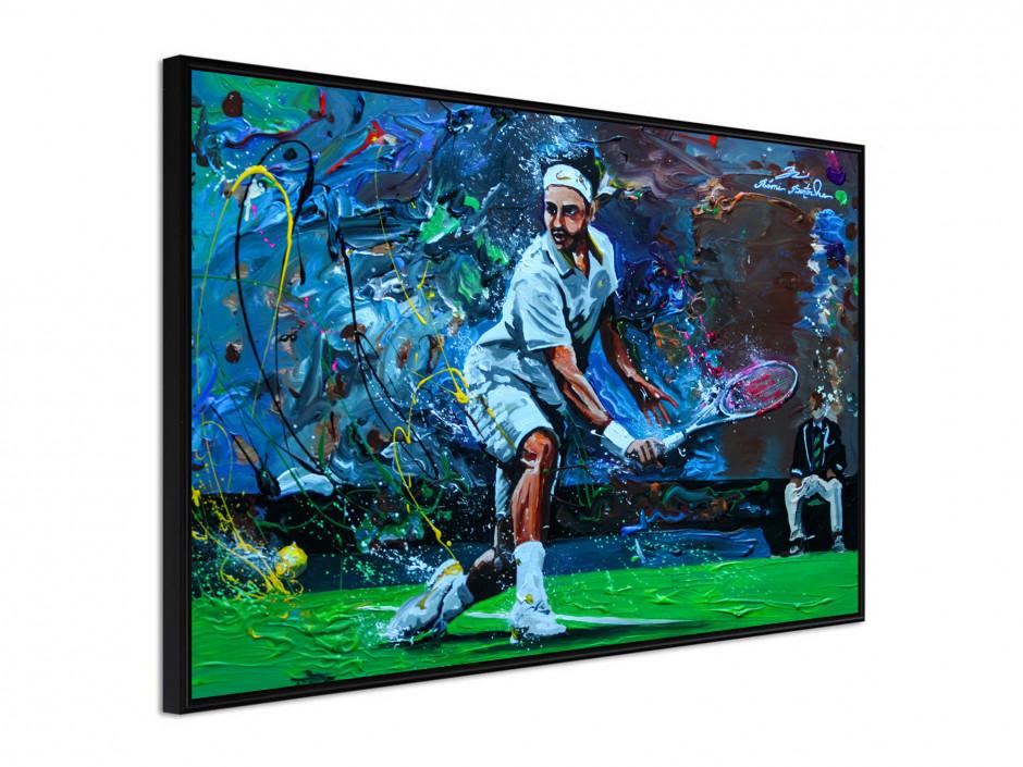Affiche sous cadre Tennisman