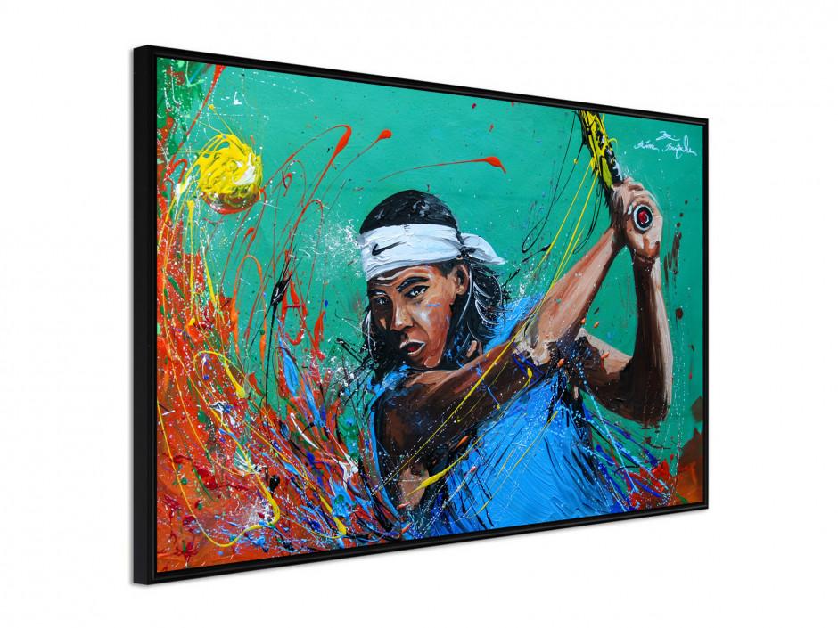 Affiche sous cadre The Tennisman