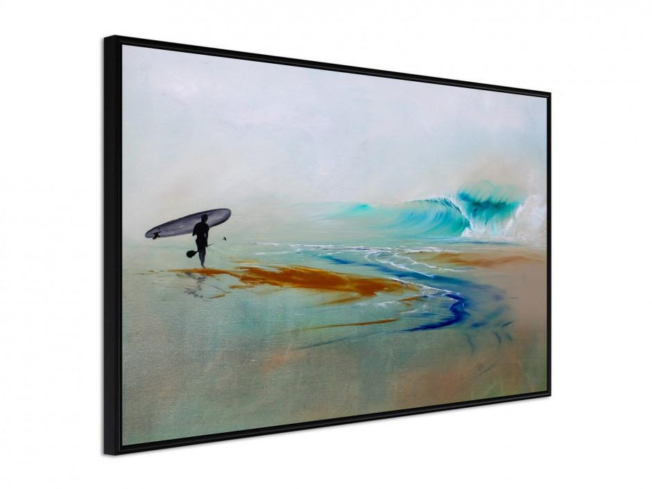 Affiche sous cadre SUP Surf