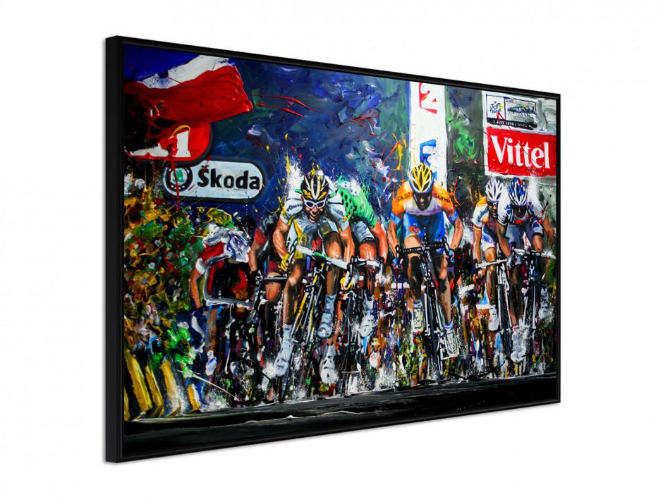 Affiche sous cadre Tour de France