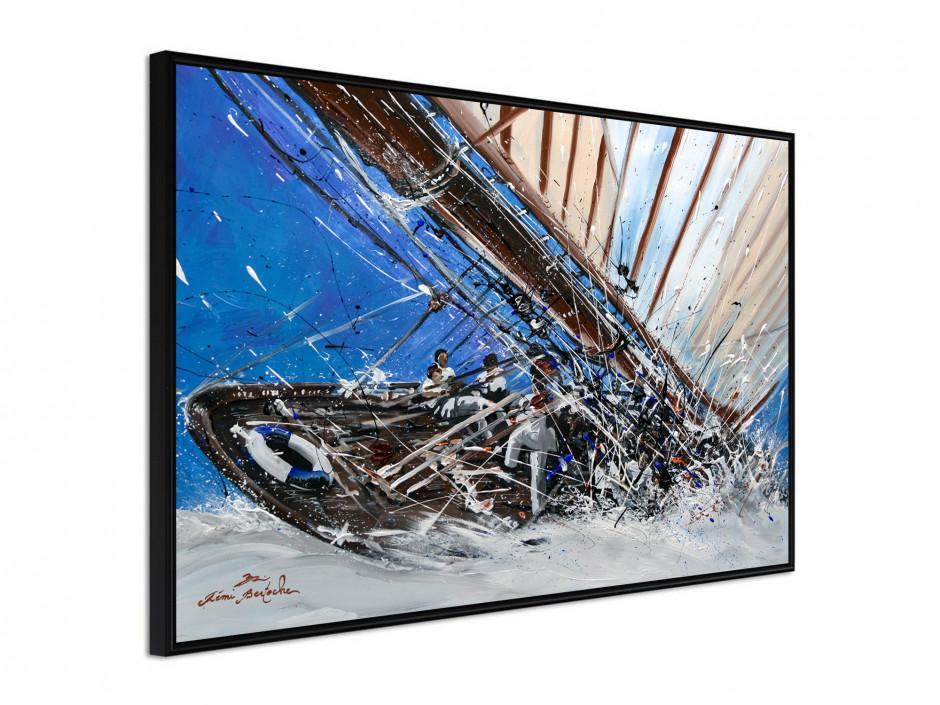 Affiche sous cadre Yacht Show
