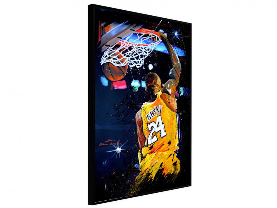 Affiche sous cadre Basket Lakers