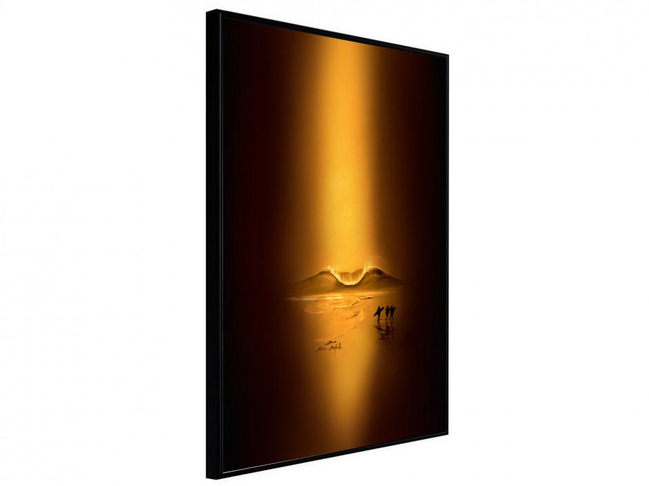 Affiche sous cadre Gold Session