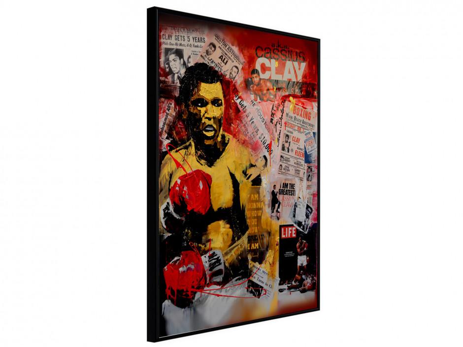 Affiche sous cadre Cassius Clay