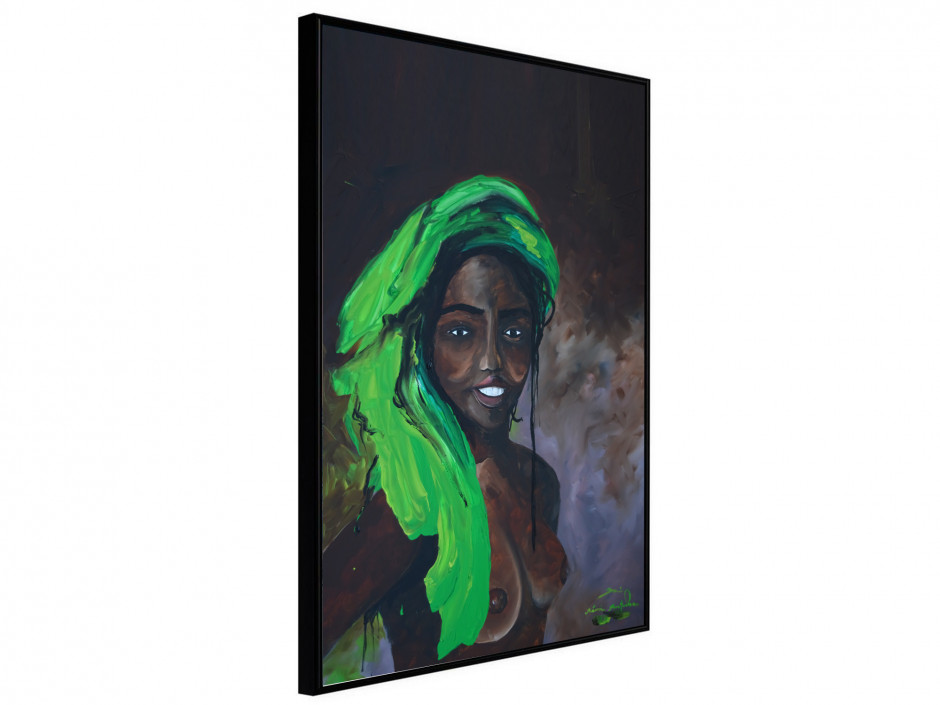 Affiche sous cadre Africa Girl