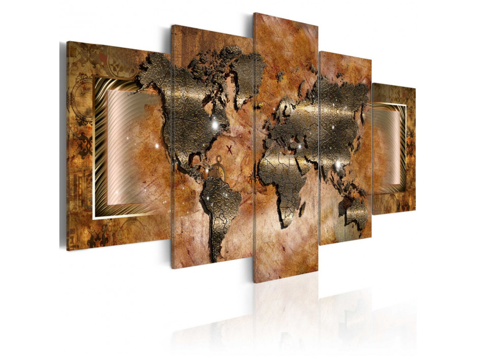 Tableau  Steel Map