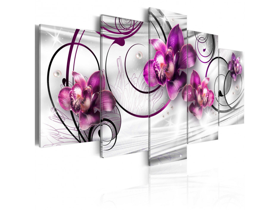 Tableau - Orchids and Pearls