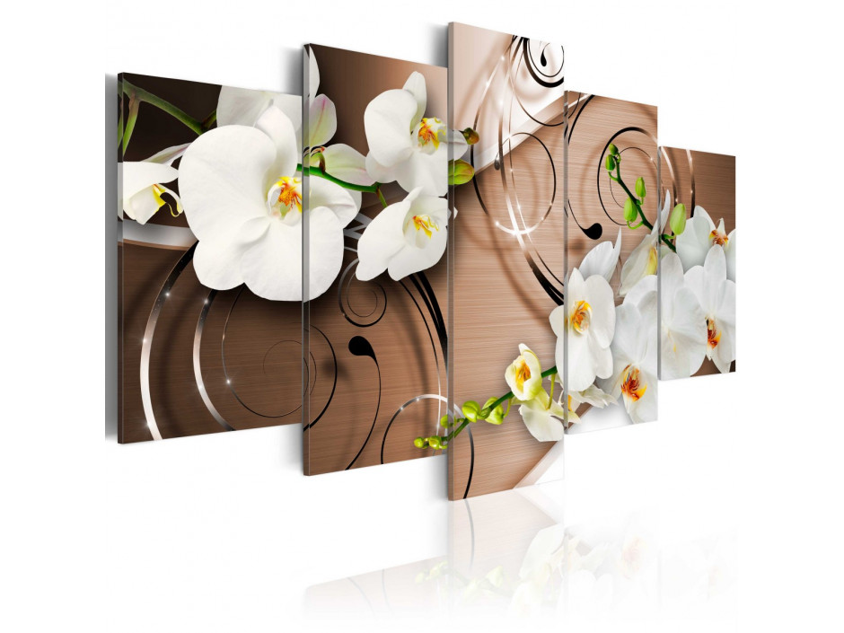 Tableau - Ivory orchids